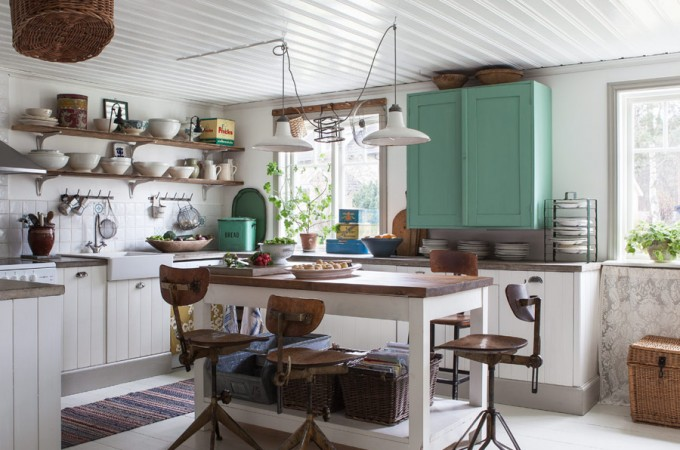 best-decoration-shabby-chic-country-kitchen