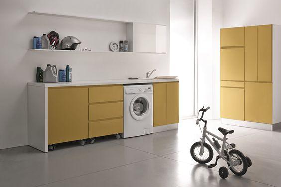 La lavanderia come organizzare lo spazio pi funzionale for Economico per costruire piani di casa