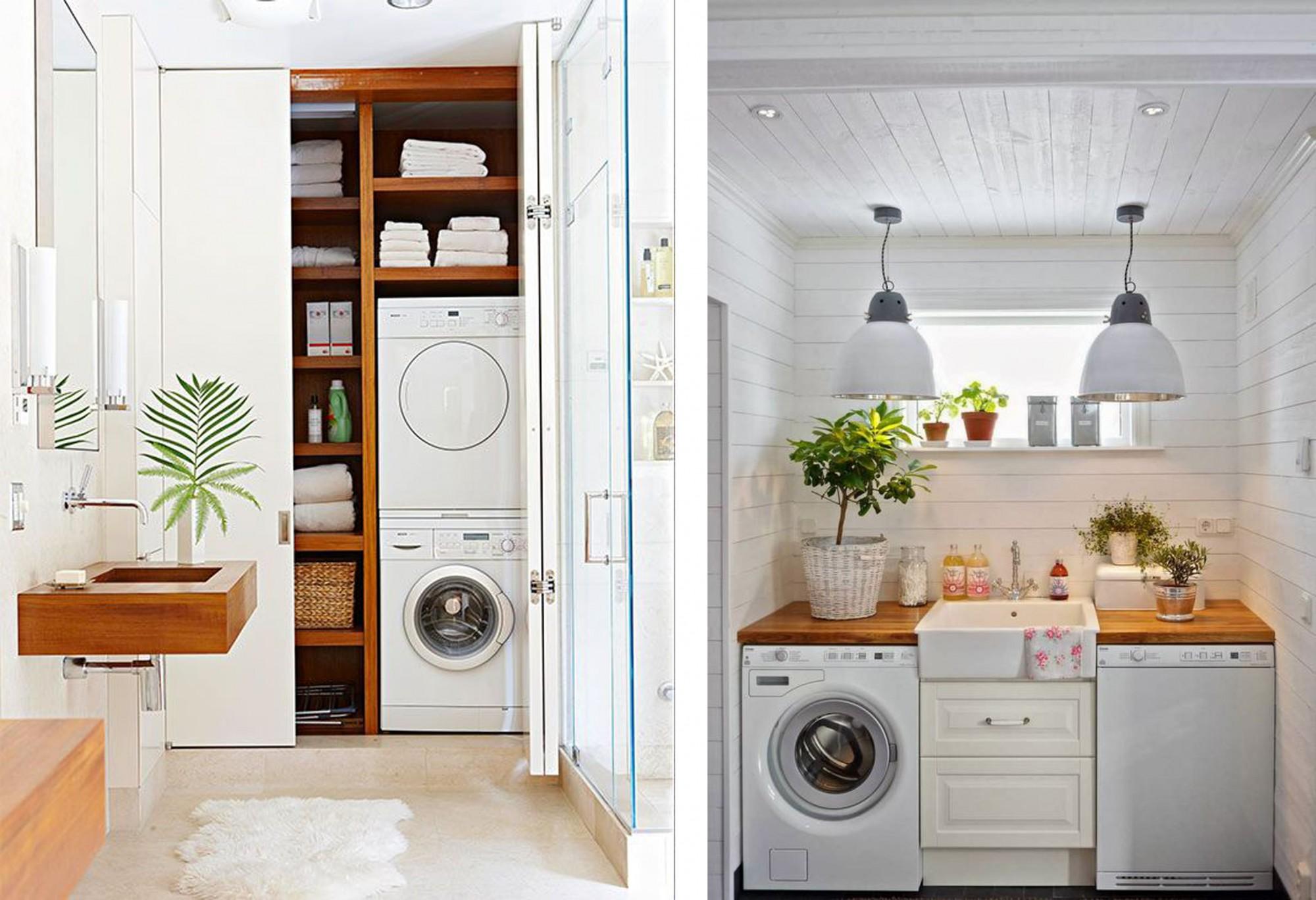 Vi lascio con le immagini di alcune soluzioni per la vostra lavanderia ...