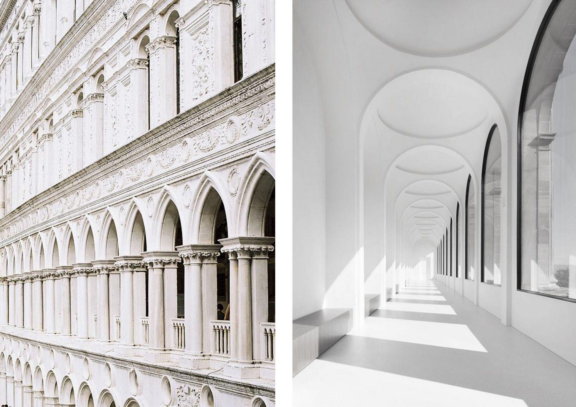 Da Le Corbusier e Mies Van Der Rohe fino ai giorni nostri con i Five Architects di New York il colore bianco ¨ entrato prepotentemente nelle foto delle